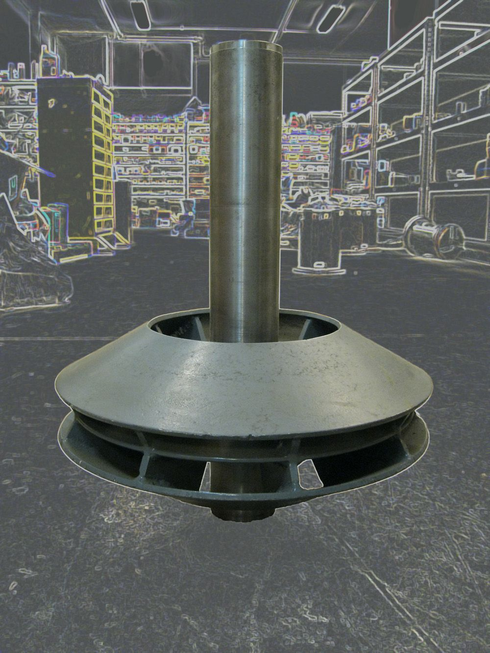 Control Lumps with High Shear Mixing Blade